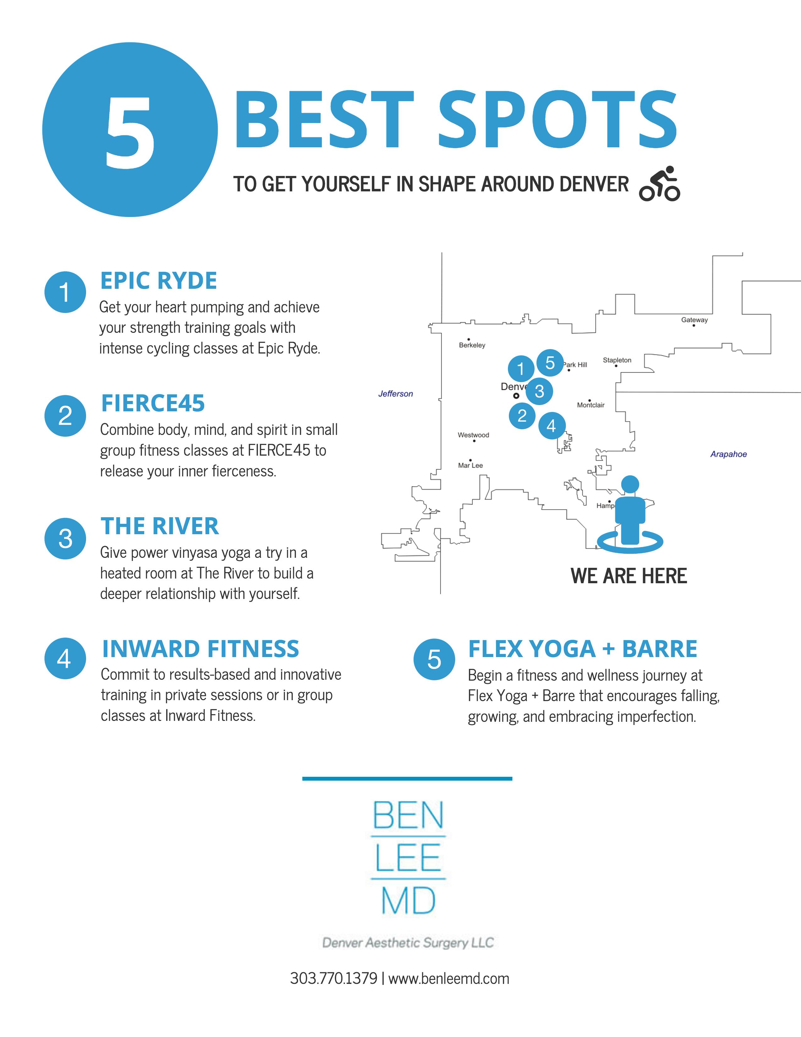 5 Best Spots to Get Fit Around Denver